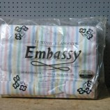 Vintage Embassy blanket | H is for Home