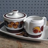Figgjo Flint August breakfast set