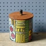 Vintage Jie Gantofta tea jar   H is for Home