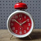 Red vintage Insa alarm clock | H is for Home