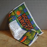 Scotch broth recipe teatowel