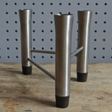 Chichester stainless steel candle holder
