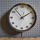 White-faced Metamec wall clock
