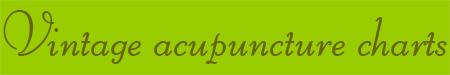 'Vintage acupuncture charts' blog post banner