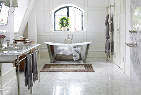 Deco fabulous bathroom style
