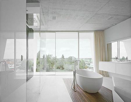 minimalist bathroom style