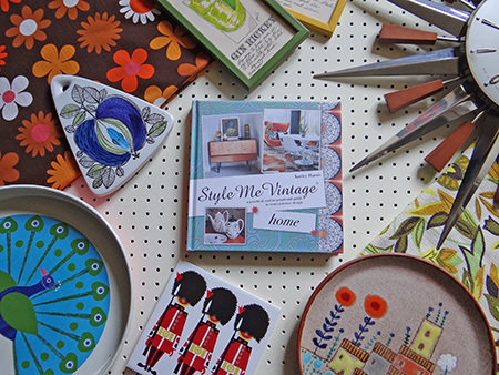 'Style Me Vintage' book surrounded by vintage homewares | H is for Home