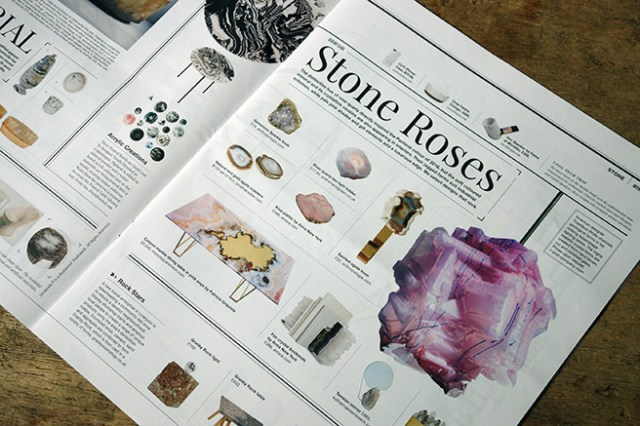 'Stone Roses' article in Warehouse Home magazine