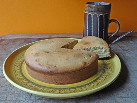 luncheon seed cake and mug of tea | H is for Home