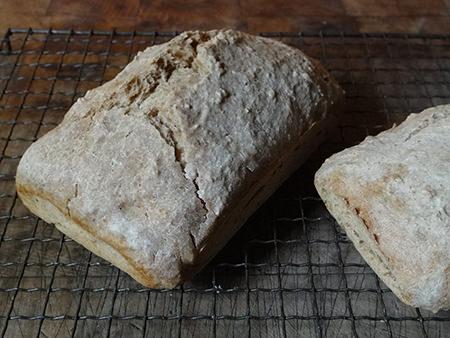 Two Roman bread loaves