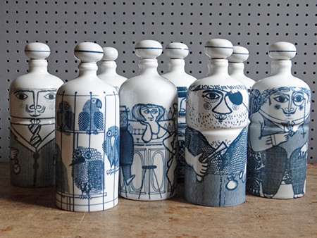 Vintage Altenstadt bottle collection