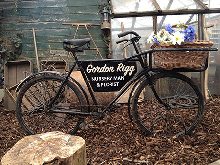 Vintage Gordon Rigg delivery bicycle