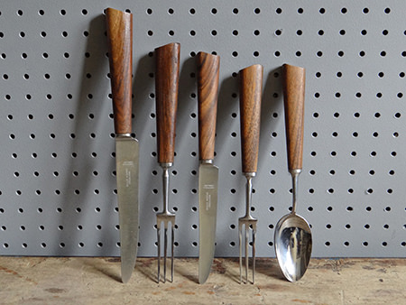 Collection of boxed vintage Mills Moore cutlery