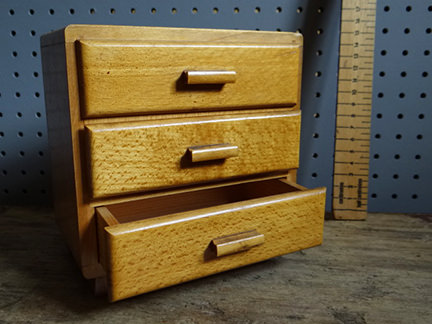 vintage miniature chest of drawers