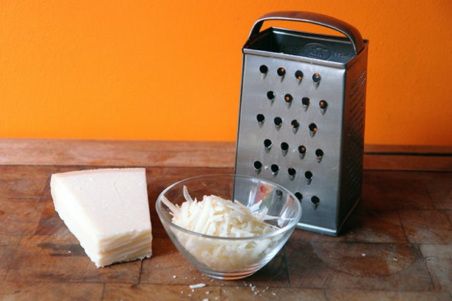 Grated Parmesan | H is for Home