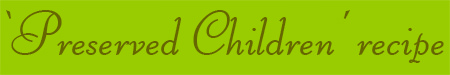 'Preserved Children' blog post banner