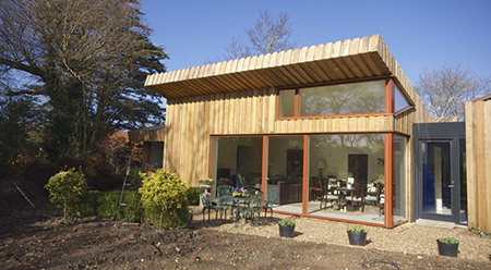 passivhaus self build by Forrester Architects