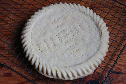 home-made shortbread round
