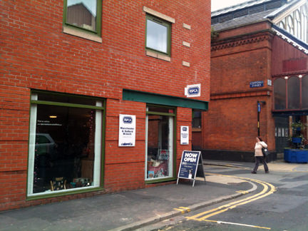 RSPCA charity shop on Oak Street, Manchester