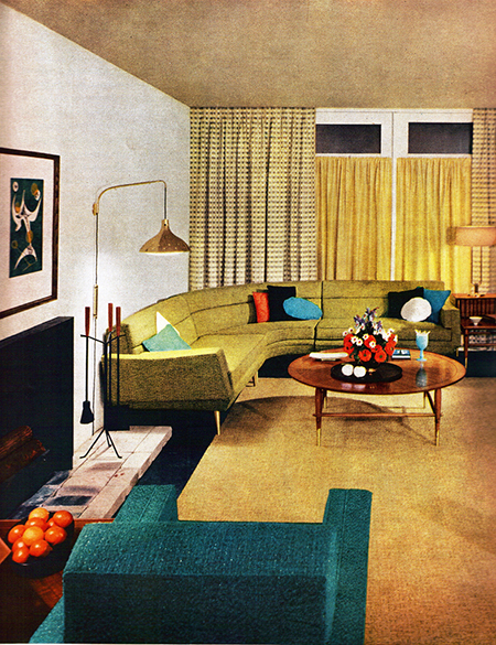 Original 1950s sitting room