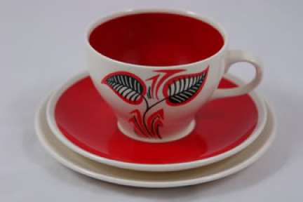1950s Wade pottery cup & saucer