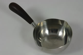 vintage stainless steel sauceboat