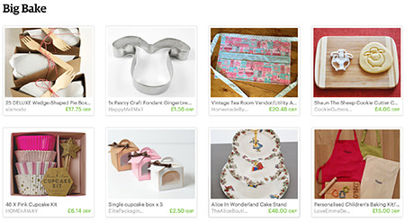 'Big Bake' Etsy List curated by H is for Home