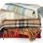 Tartan blanket giveaway