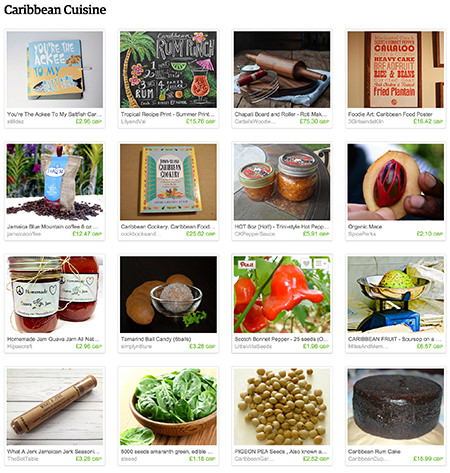 'Caribbean Cuisine' Etsy List curated by H is for Home