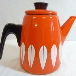 Charity Vintage: Orange Cathrineholm coffee pot
