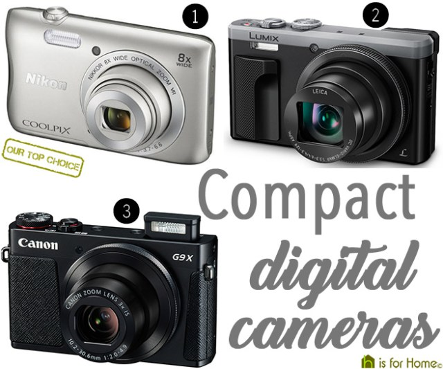 Compact digital cameras | H is for Home