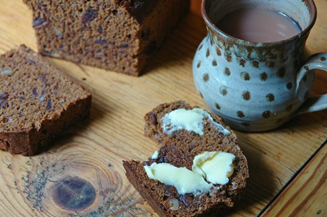 Home-made date and walnut loaf | H is for Home