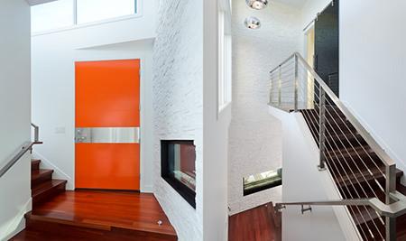 tangerine front door