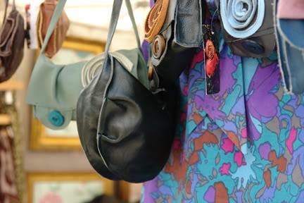vintage fabric goods on Manchester Fashion Market