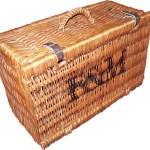 Charity Vintage: Fortnum & Mason wicker picnic basket