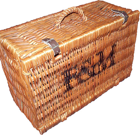 Fortnum & Mason wicker picnic basket