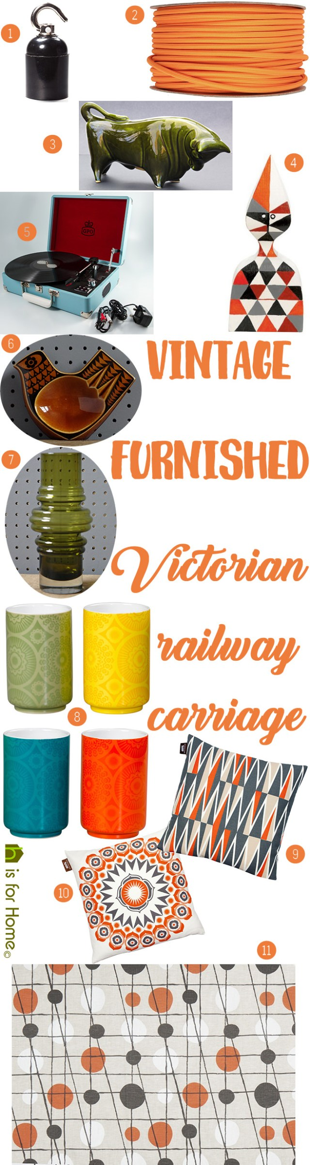 Get their look: Vintage furnished Victorian railway carriage | H is for Home