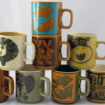 Charity Vintage: Hornsea mug collection