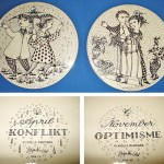 Charity Vintage: Nymolle wall plaques