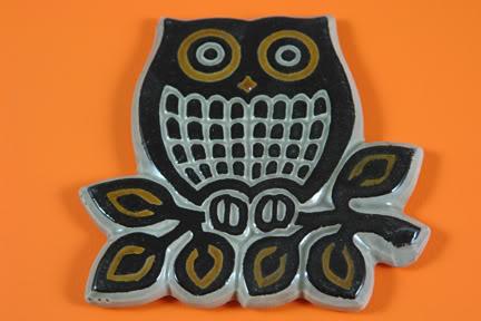 Vintage pottery owl