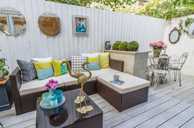 Sociable patio space