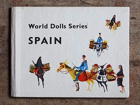 Vintage World Dolls Series: Spain book cover
