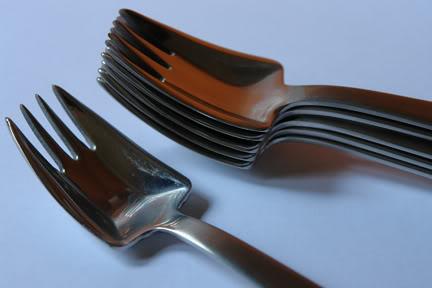 vintage Viners Splayds spoons