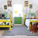 Create a bedroom worthy of your little superhero