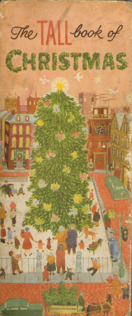 'The Tall Book of Christmas' book cover illustrated by Gertrude E. Espenscheid