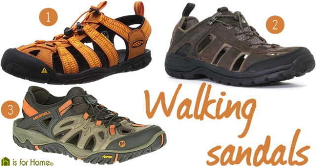 Walking sandals   H is for Home
