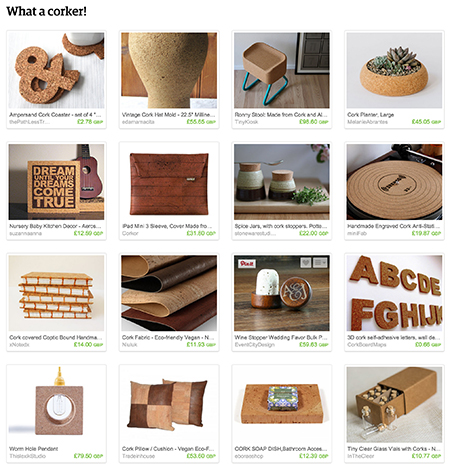 'What a Corker!' Etsy List curated by H is for Home