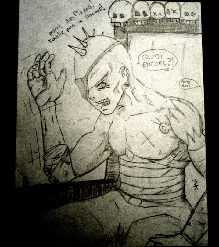 croquis punk royal