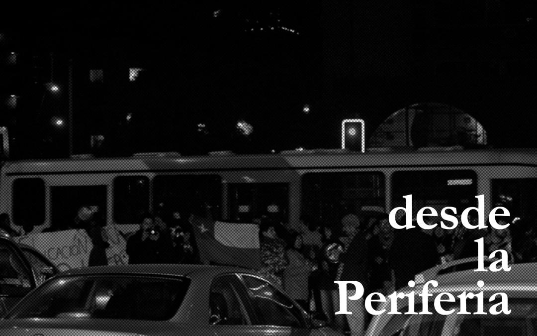 Aquella noche, cuando la lacrimógena se hizo parte de los harapos cotidianos (Nicolás Hermosilla)