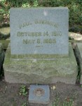 Glenwood Cemetery, Paul Bremond